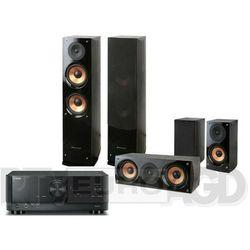 Yamaha MusicCast RX-V4A (czarny), Pure Acoustics NOVA 6 (czarny)
