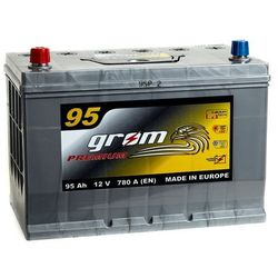 Akumulator GROM Premium 95Ah 780A Japan Lewy plus