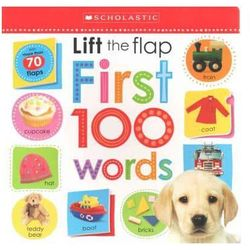 Lift the Flap First 100 words (opr. twarda)
