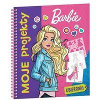 Książki dla dzieci, Barbie Moje projekty SKF-102 - Jeśli zamówisz do 14:00, wyślemy tego samego dnia. (opr. broszurowa)