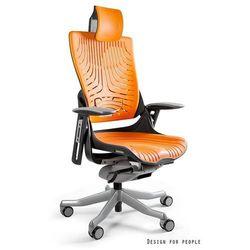 Fotel ergonomiczny czarny WAU 2 Elastomer - Mango - ZŁAP RABAT: KOD150