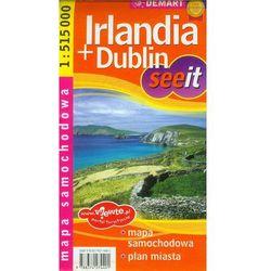 See it irlandia+dublin mapa sam. i plan miasta (opr. broszurowa)