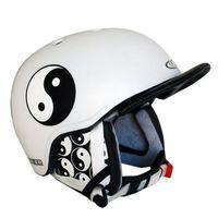 Kaski i gogle, Kask snowboardowy WORKER Flux - Kolor Jing jang, Rozmiar S (50-54)