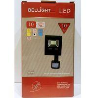 Czujki alarmowe, HALOGEN LAMPA NAŚWIETLACZ LED 10W Z CZUJNIK RUCHU 13163472