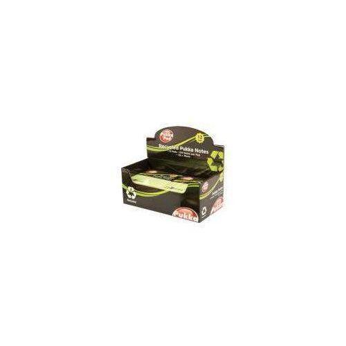 Karteczki, Karteczki samop. 76x76mm recykling pastel (12szt)