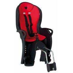 Fotelik rowerowy Hamax Kiss czarny, czerwona wyściółka, na sztyce Hamax kiss (-33%)
