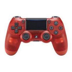 Gamepad Sony Dual Shock 4 pro PS4 v2 - křišťálově červená (PS719868767)