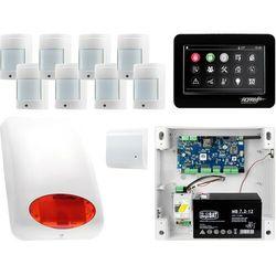 NeoGSM-IP Aero System alarmowy 8x czujka bezprzewodowa Powiadomienie GSM Wifi Zestaw