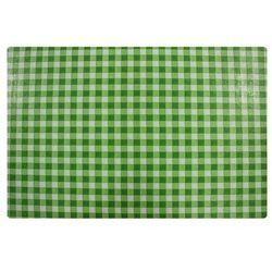 Podkładka na stół 44 x 28 5 cm kratka zielona