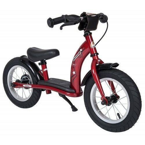 """Rowerki biegowe, Rowerek biegowy 12"""" XL BIKESTAR GERMANY classic czerwony"""