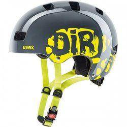 UVEX kask rowerowy Kid 3 szary 51-55 cm