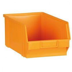 Plastikowe pojemniki, 146x237x124 mm, żółto-pomarańczowy