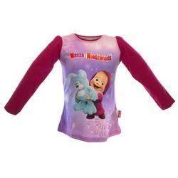 Bluzka dla dzieci z bajki Masza i Niedźwiedź - Różowy ||Kolorowy