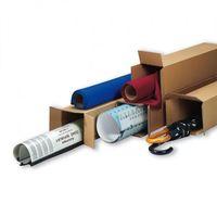 Przybory do pakowania, Tuba wysyłkowa kwadratowa, 3-warstwa, 500x100x100 mm, 30 szt