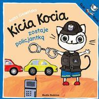 Książki dla dzieci, Kicia Kocia zostaje policjantką (opr. broszurowa)