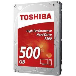 Dysk TOSHIBA P300 500GB (HDWD105EZSTA) + Zamów z DOSTAWĄ PRZED ŚWIĘTAMI! + Zamów z DOSTAWĄ JUTRO!