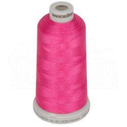 Nić do haftu Madeira Polyneon No.40 - 1000m, różowy