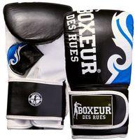 Rękawice do walki, Rękawice bokserskie BOXEUR BXT-5139 (rozmiar L) Czarno-niebieski