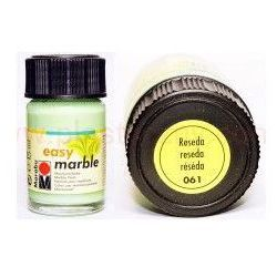 Farba do marmurkowania Easy Marble Marabu 15 ml - 061 Reseda