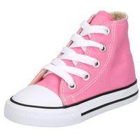 Buty sportowe dla dzieci, Converse CHUCK TAYLOR ALL STAR Tenisówki i Trampki wysokie pink