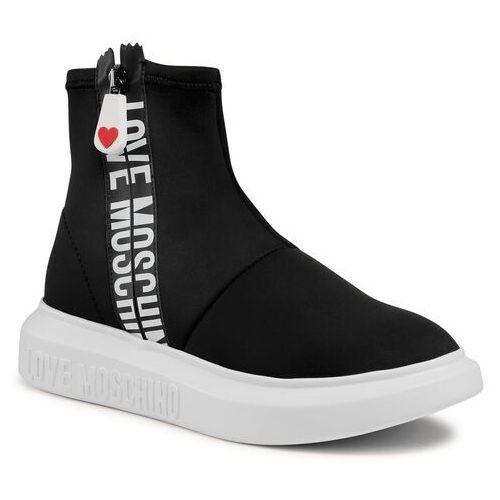 Damskie obuwie sportowe, Sneakersy LOVE MOSCHINO - JA15234G1CIN0000 Nero