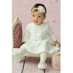 Sukienka niemowlęca na Chrzest 6K38AL Oferta ważna tylko do 2023-07-30
