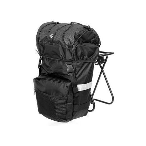 Sakwy, torby i plecaki rowerowe, Torba na bagażnik AUTHOR A-N472, 11 L czarna