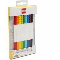 Długopisy, LEGO cienkopisy żelowe 9 sztuk