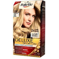 Palette Deluxe Farba do włosów Srebrzysty Blond nr 218 1 op. - Schwarzkopf
