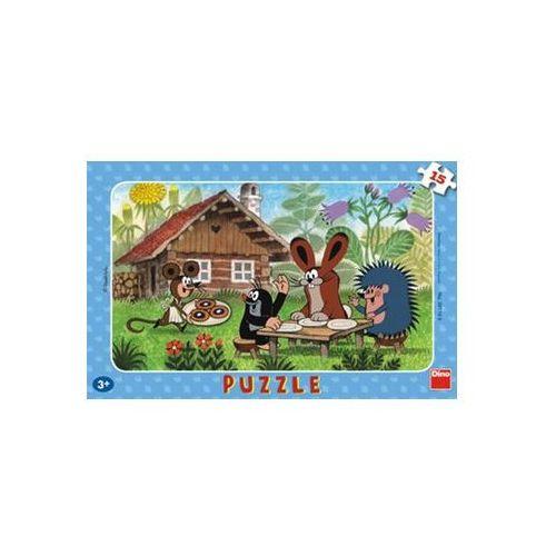 Puzzle, Krtek na návštěvě - Puzzle 15 deskové neuveden