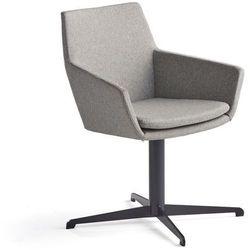 Krzesło konferencyjne FAIRVIEW, czarny, srebrnoszary