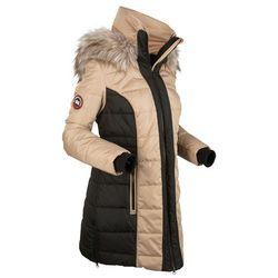 Płaszcz outdoorowy bonprix beżowy