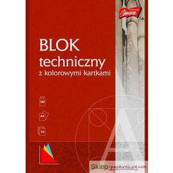 Blok techniczny A4 kolorowy [10 szt.]
