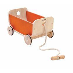 Wózek -wagon pomarańczowy, Plan Toys PLTO-8614