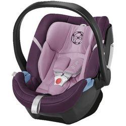 CYBEX GOLD Fotelik samochodowy Aton 4 Princess Pink-purple - BEZPŁATNY ODBIÓR: WROCŁAW!