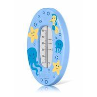 Termometry, Termometr kąpielowy do kąpieli bezrtęciowy REER - niebieski Przecena 15% (-15%)