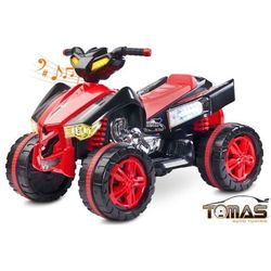 Quad Raptor pojazd na akumulator Toyz Czerwony