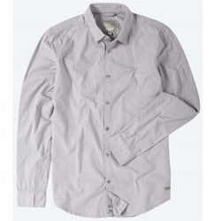 koszula BENCH - Crinkle Cotton Light Grey (GY003) rozmiar: M