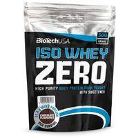 Odżywki białkowe, Bio Tech USA Iso Whey Zero - 500 g