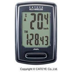 Licznik rowerowy Cateye VELO CC-VT230W bezprzewodowy czarny