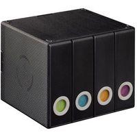 Pudełka i portfele na płyty, Box 96 HAMA pudełko na płyty CD 96 szt Czarny
