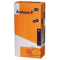 AMBULEX P - rękawiczki lateksowe bezpudrowe pokryte polimerem - XS 100szt.