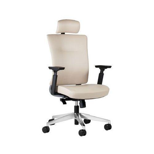 Fotele i krzesła biurowe, Fotel SPACE beżowy