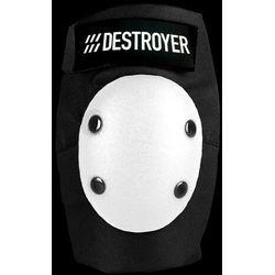 ochraniacze DESTROYER - Am Elbow Black/White (BWT) rozmiar: S