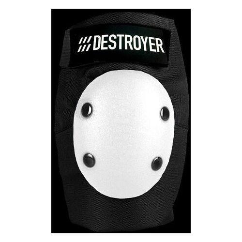 Ochraniacze na ciało, ochraniacze na łokcie DESTROYER - Am Elbow Black/White (BWT)
