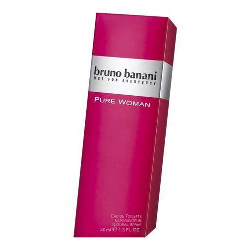 Wody toaletowe damskie, BRUNO BANANI Pure Woman woda toaletowa spray 40ml