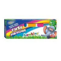 Farbki, Bambino Farby Plakatowe 10 Kolorów