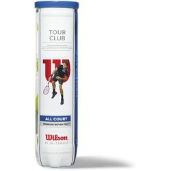 Wilson zestaw piłek tenisowych Tour Club 4 Tennis Ball - BEZPŁATNY ODBIÓR: WROCŁAW!