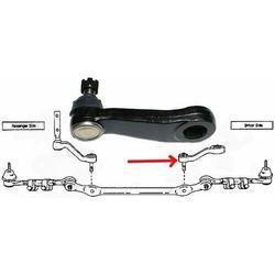 Lewe ramie prowadzące mechanizm układu kierowniczego Lincoln Navigator K8700 do pitman