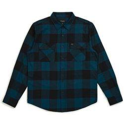 koszula BRIXTON - Bowery Lw L/S Flannel Black/Teal (BLKTL) rozmiar: XL